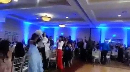 Funny Wedding Reception Dance Video