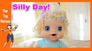 Baby Alive Dolls Being Super SILLY! - Funny Baby Alive Videos