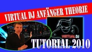 VIRTUAL DJ ANFÄNGER / BEGINNER THEORIE TUTORIAL - Übergänge - German / Deutsch - DJ CONDOR