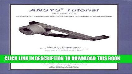 [PDF] ANSYS Tutorial Release 11 Popular Colection