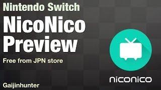 Nintendo Switch: NicoNico Tutorial