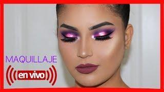 TUTORIAL de Maquillaje En Vivo paso a paso para Principiantes