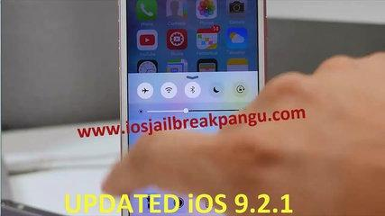 Jailbreak iOS 9, iOS 9.2.1 jailbreak sur iPhone, iPad et iPod Touch avec Tutorial Pangu