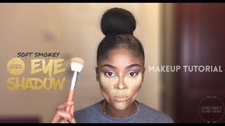 Soft Smokey Gold Eyeshadow Makeup Tutorial X Vanity Planet Brushes|KAISERCOBY