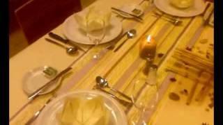 Une Jolie Table Réalisée Par Diaw Et Nora