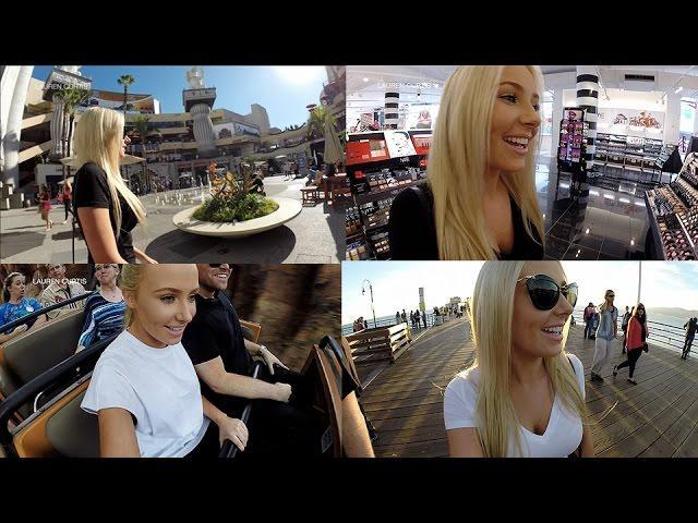 Follow Me Around: Disneyland, Sephora, Santa Monica Pier!