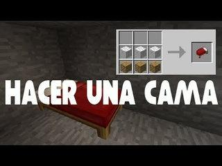 Como crear una cama en Minecraft Tutorial guía para novatos