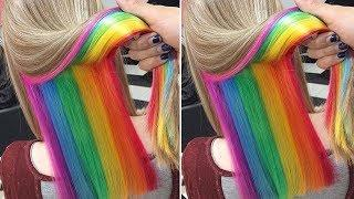 Amazing Hair Color Transformations - Amazing HAIRSTYLES TUTORIAL