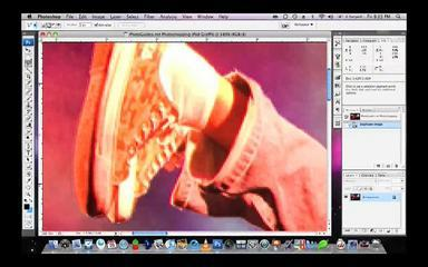 Photoshopping IPod Graffiti - Photoshop Tutorial