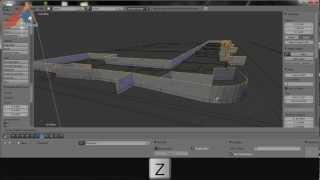 Blender: Tutoriel Architecture Francais: Extrait 1 Construction Perspective