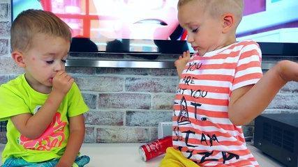 FUNNY KIDS PRANK with COLA! Kids Transform Magic Car, Family Fun Kids toys-20lCm8MSFNo