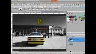 Colorkey Erstellen Mit Corel Paintshop Pro X5, X4, X2, Tutorial Deutsch