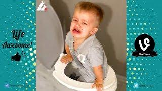 TRY NOT TO LAUGH or GRIN: Funny Kids Fails Compilation 2017 | Funny Kids Vines Videos July 2017