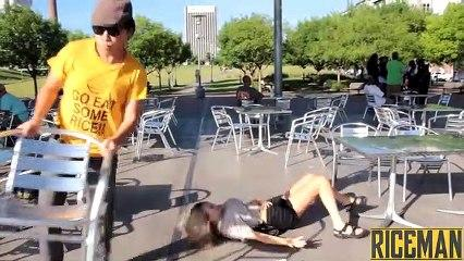 Chair Pulling Funny Video in Birmingham!!! Funny New HD Videos 2019