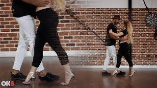 Kizomba tutorial - #Footwork #Sensual - Harvey & Nina #1