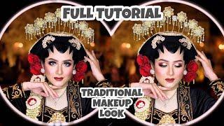 BOLD Makeup Look untuk TRADITIONAL WEDDING    Full Tutorial