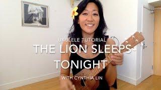 Lion Sleeps Tonight // Ukulele Chucking Strum Tutorial