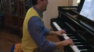 Hino Civico Brasileiro/ Musica A Tiradentes Brasil Piano Solo Romantico Triste Instrumental Tutorial