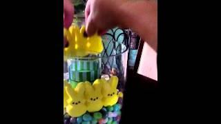 Willow House Easter Peeps Centerpiece