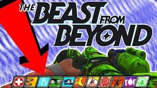 THE BEAST FROM BEYOND | PERKAHOLIC EASTER EGG TUTORIAL! | DLC4 WALKTHROUGH GUIDE | IW ZOMBIES