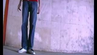 Melbourne Shuffle Beginner Trick / T-step / T - Kicks Croatian Language