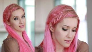 Inside Out French Fishtail Braid Tutorial - Everyday Hairstyle For Medium Long Hair