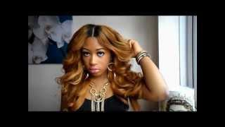 Beautiful,Bouncy Curls Tutorial Using Curling Wand