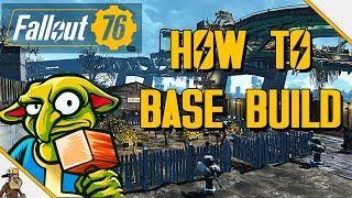 FALLOUT 76 Base Building Guide (Fallout 76 Basic Base Building Tutorial)