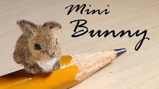 Miniature Baby Bunny - Polymer Clay Tutorial