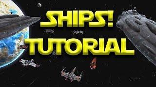 Star Wars: Galaxy Of Heroes - Ships Walkthrough Tutorial