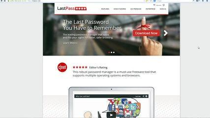 Lastpass 2014- Video Tutorial Review - How To Use Last Pass to Secure your Passwords for Free