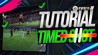 TUTORIAL NOVO CHUTE FIFA 19 - TIMED SHOT/FINALIZAÇÃO CALIBRADA