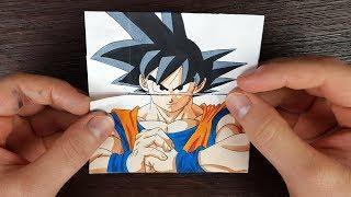 TUTORIAL Goku Transformations   Endless card