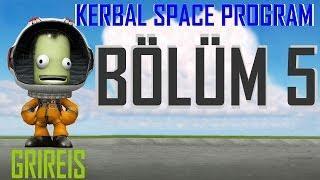 Kerbal Space Program - 5 (Ay'a Ayak Basabilenlerden Misiniz?)