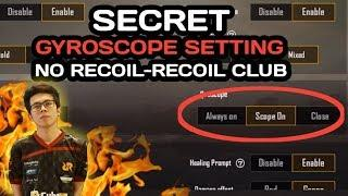 TUTORIAL GYROSCOPE SETTING, RECOIL CONTROL, BUTTON SETTING - PUBG MOBILE INDONESIA