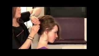 Easy FRENCH TWIST Up-do Hair Tutorial