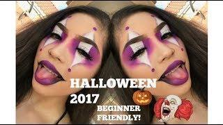 Clown Halloween Makeup Tutorial 2017