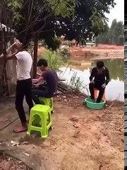 Funny Chinese Prank