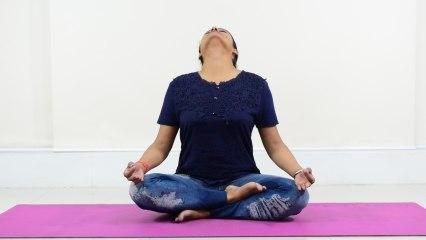 Yoga: गले की ग्रंथि को सक्रिय करती है आकाशी मुद्रा | Boldsky