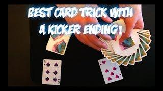 Amazing Card Trick With A KICKER ENDING! Performance And Tutorial!