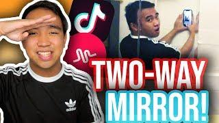 TWO-WAY MIRROR TUTORIAL FOR TIK TOK! (iOS & Android) *NEW*