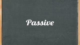 Passive Voice Lesson - English Grammar Tutorial Video Lesson