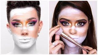I Tried Following James Charles Tutorial In India | The Most Difficult Tutorial I Ever Tried