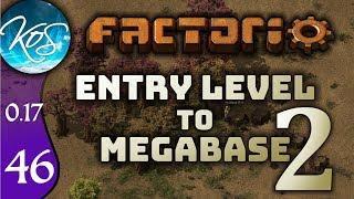 Factorio 0.17 Ep 46: URANIUM STATION - Entry Level to Megabase 2 - Tutorial Let's Play, Gameplay