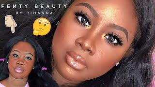 FENTY BEAUTY by Rihanna Full Face Tutorial + Review! | PrincessBellaaa