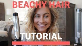 PERFECT BEACHY HAIR TUTORIAL HOW TO | Shawn Johnson