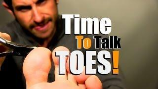No More Funky Feet! Men's Toe And Foot Care Routine