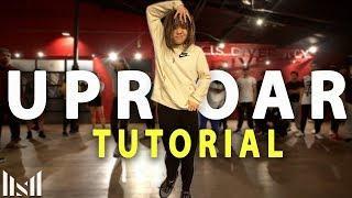 """UPROAR"" - Lil Wayne Dance Tutorial | Matt Steffanina & Gabe De Guzman Choreography"