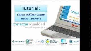 Tutorial Como Utilizar CMap Tools Parte 1 Subtitulado Al Español.wmv