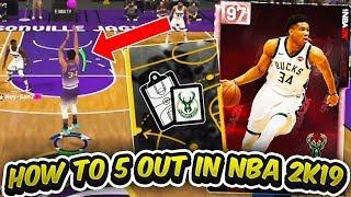 How To Run 5-Out in NBA 2K19 MyTEAM Tutorial! Start Cheesing Back in Unlimited! | AMBISHH